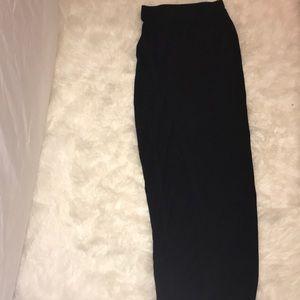 Maxi split skirt